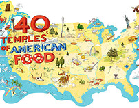 40 Temples of American Food (and more)