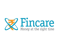 Fincare logo and website design