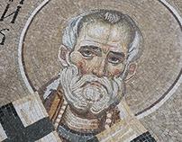 "Temple ""St. Konstantin & Elena"" Mosaic"