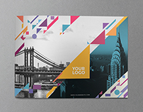 Colorful Shapes Brochure