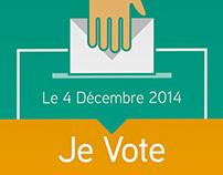Affiche Je Vote