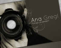 Ana Gregl business card