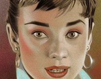 Glamour Girls - Audrey Hepburn