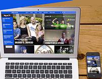 A&E New website