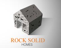 Rock Solid Homes logo