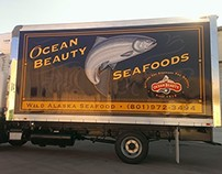 Ocean Beauty Box Truck Wrap