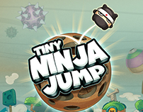 """Forest Jumper Ninja""  iPhone/iPad game"