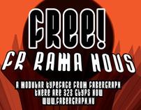FR Rama Nous - free typeface
