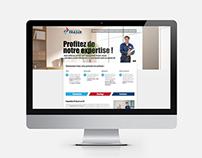 Climatisation Fraser - Site web / Website