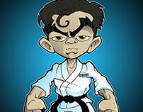 Newborn Jiu Jitsu Character