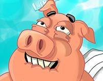 Pig likes