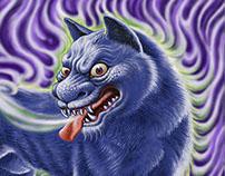 「日本妖怪大百科」2007年2008年講談社刊 並木伸一郎・著の挿絵