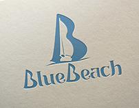 Blue Beach - Logo Design