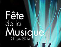 Affiche - Fête de la Musique