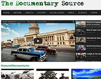 Website Design - The Documentary Source