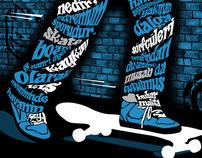 Skate-Typography