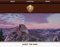 Yosemite National Park: Web Design