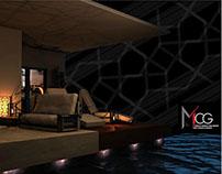 Interior - Venice residential - 3D max Render