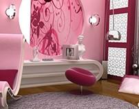Interior - Set Design - TV Program - Render