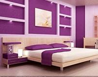 Interior - Master Bed Room - Render