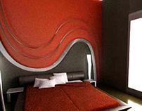 Interior - Bedroom - Render