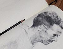 Note sketch-Fine Art
