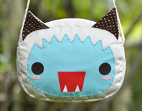 Yeti cat - Shoulder bag