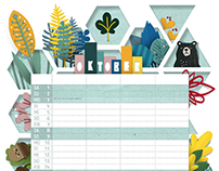 calendar sheed for 2016
