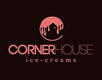 Corner House - Ice-Cream Parlor Re-Branding