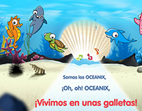 Animation Karaoke for Tosta Rica Oceanix®