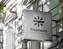 TRAPHACO PHARMACEUTICAL COMPANY - Logo design