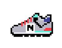 Pixel art x NewBalance