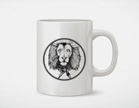 Lion   Pencil Illustration