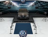 Volkswagen Passat 2015 launch stand