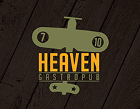 HEAVEN GASTROPUB LOGO ALTERNATIVES