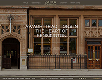 Zaika Of Kensington, London - Online Property/Website