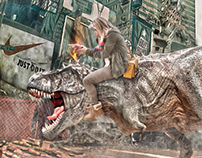 Mom & T-Rex