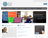 KITE website design