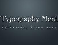 Typography Nerd