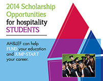 Scholarship Brochure and Flyer