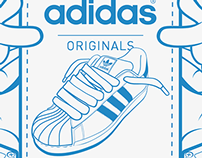 """If..."" Adidas Originals Vector Art"