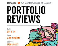Behance Portfolio Review/  Pasadena, CA