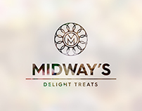 MIDWAY'S Delight Treats - Branding