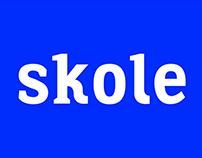 Skole typeface