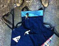 Lined Utility Apron