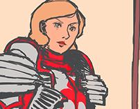 Commander Matheld