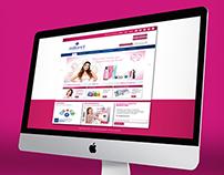 Diseño Web / Web Design · Millanel Cosmética