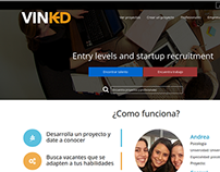 Vinkd, Social Network for recruit talent