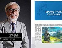 Miyazaki Hayao layout