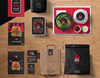 q's wings & burger | visual brand update